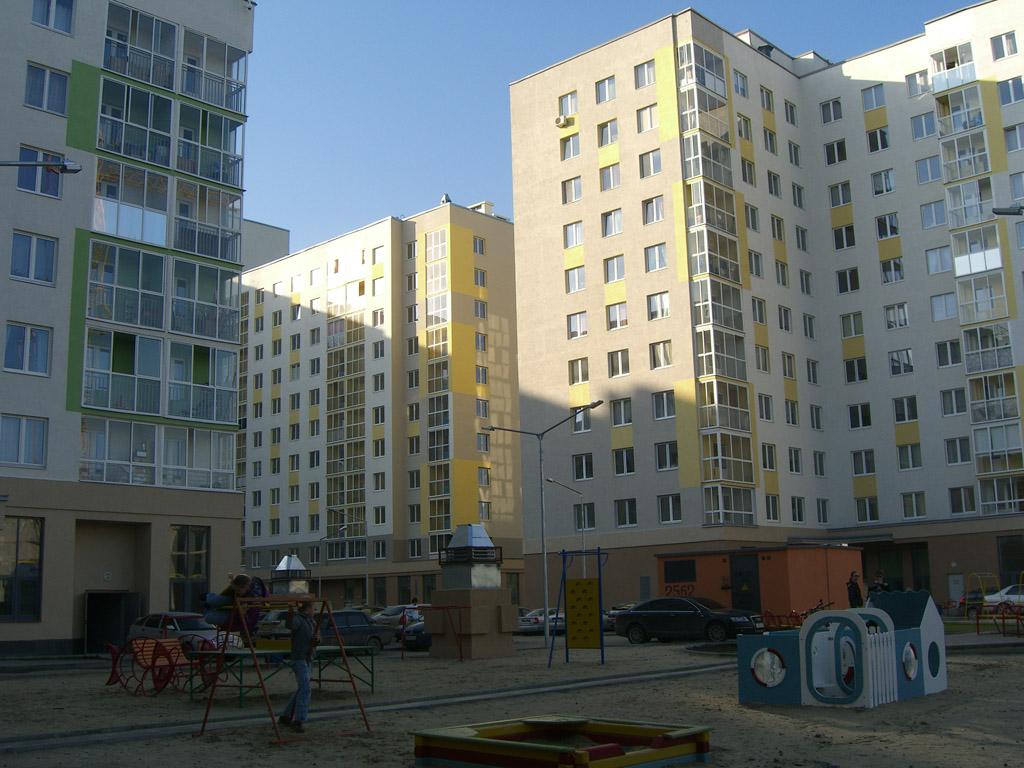 Concrete jungle of Academichesky