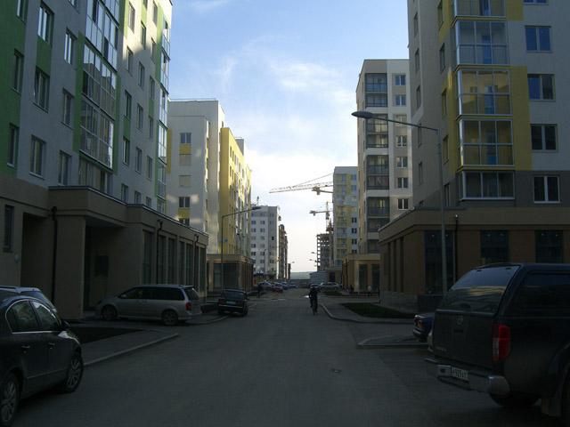 Внутриквартальная улица