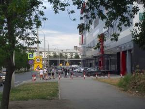 """Испорченный тротуар у ТЦ """"Фан-фан"""""""