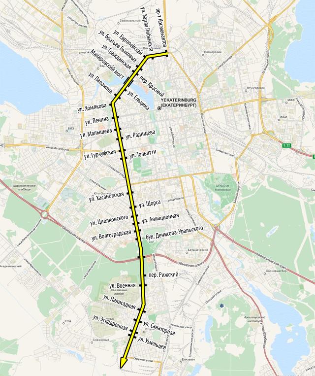 Регулируемые перекрестки на Московской-Челюскинцев и Новосибирской 2-й