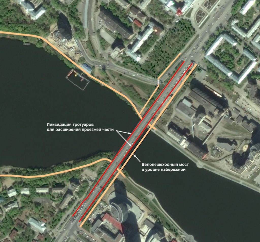 Велопешеходный дублер Макаровского моста