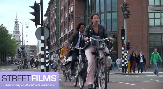 Велосипедные истории из Амстердама