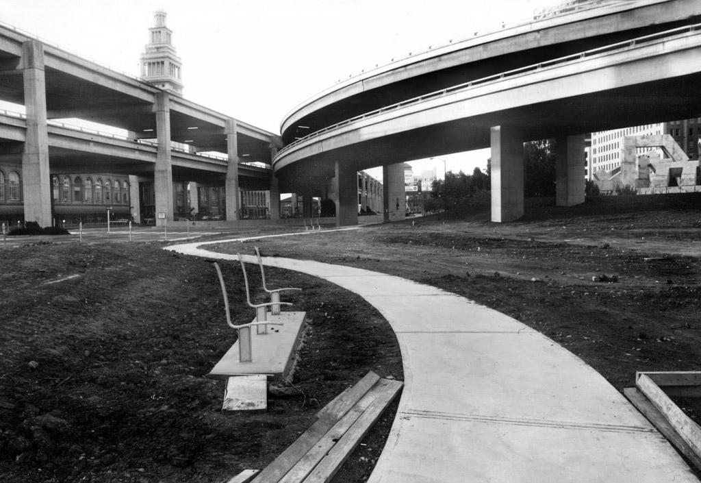 Фривэй Эмбаркадеро, Сан-Франциско, 1975 год
