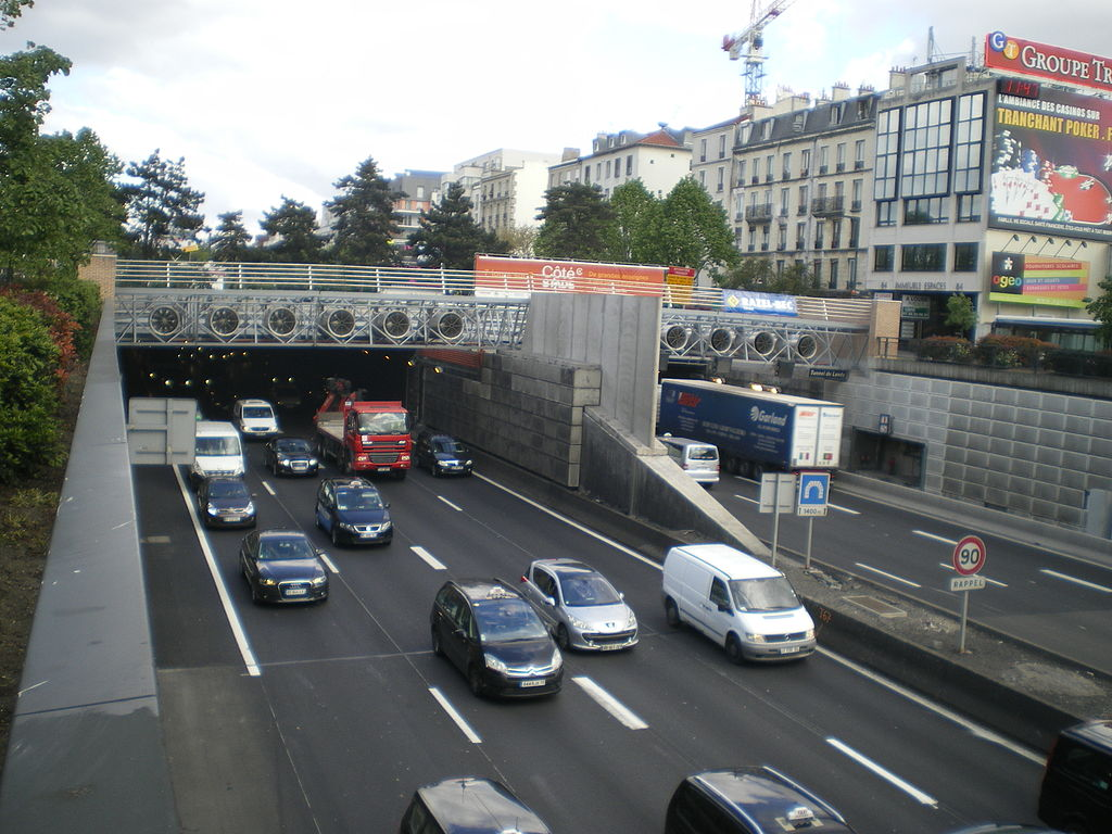 Тоннель в Париже