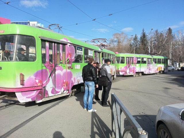 Переход через ул. Радищева