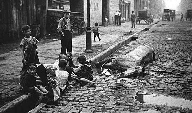 Реальность традиционного города на рубеже 19-20 веков