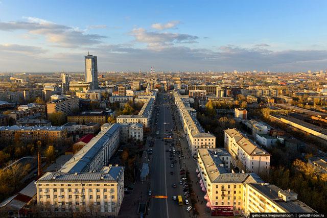 Улица Сверлова. Фото: gelio-nsk.livejournal.com