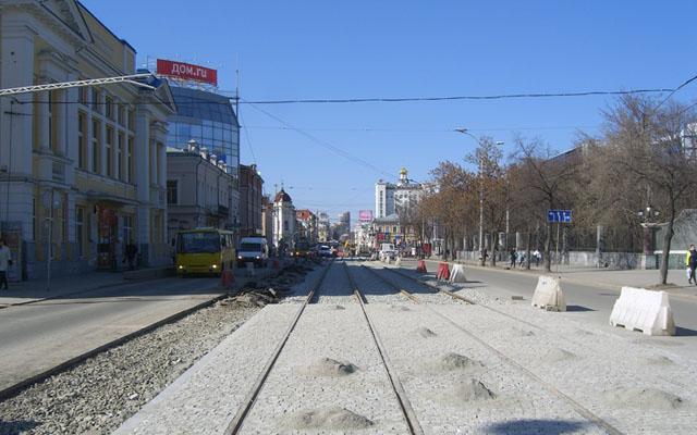 Реконструкция улицы 8 Марта в Екатеринбурге