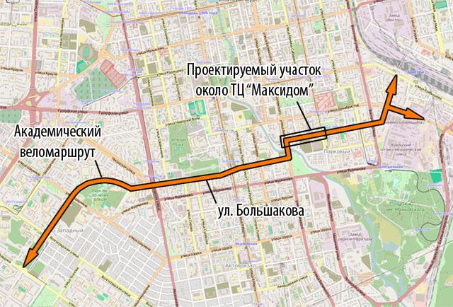 Улица Тверитина
