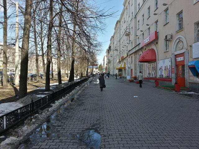 Проспект Ленина между Восточной и Гагарина