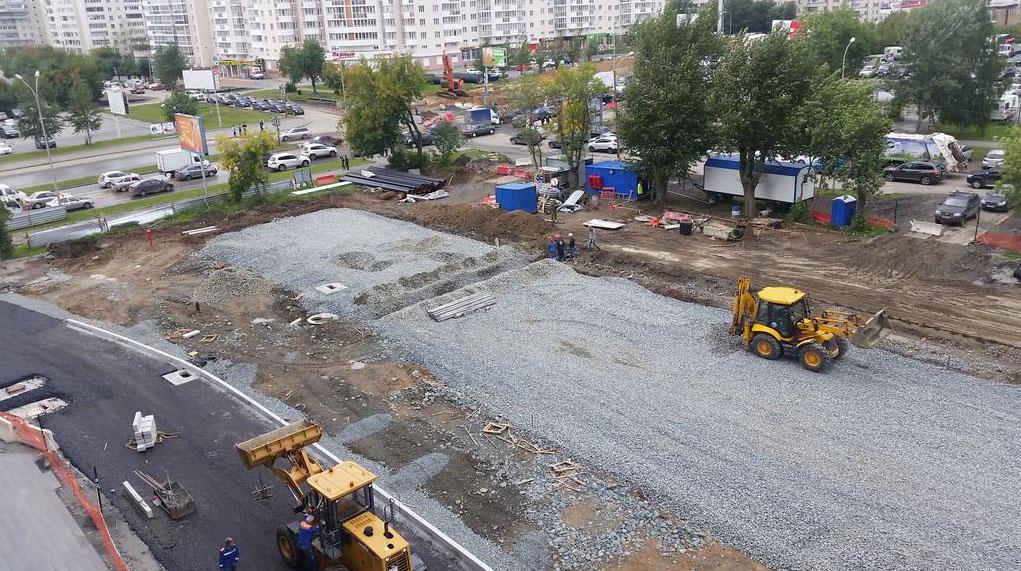 Строительство Ленина-Татищева