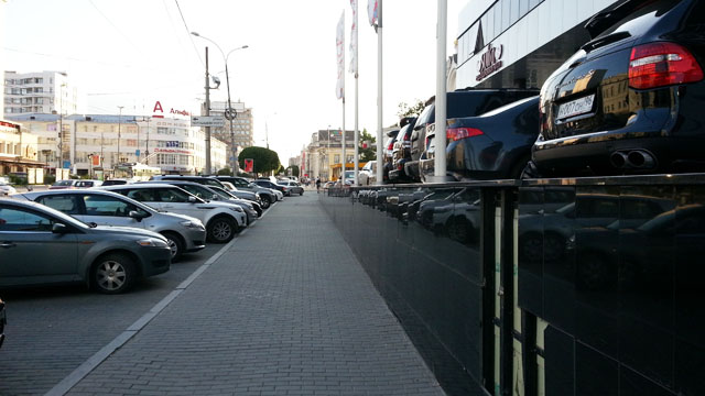 Тротуар на ул. Малышева