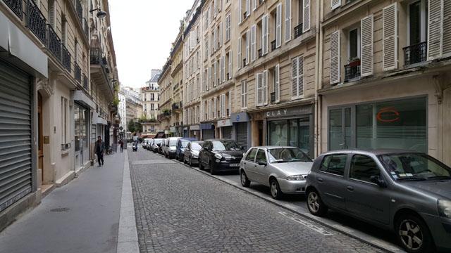 Второстепенная улица в Париже