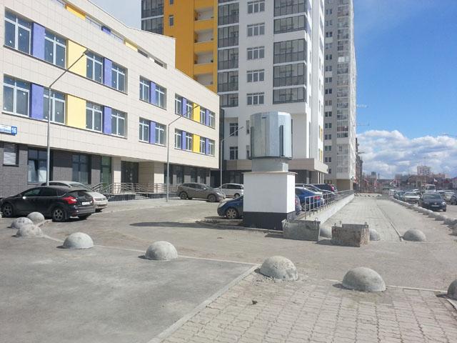 Новая застройка по ул. Шаманова
