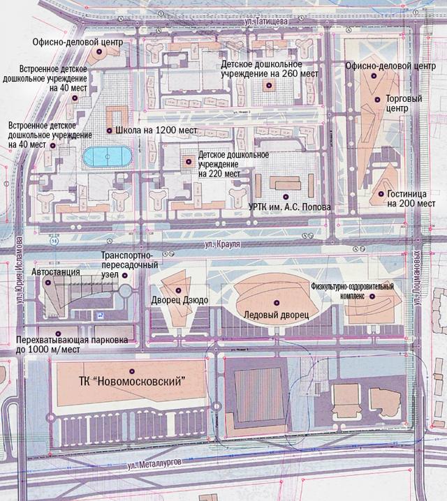 Проект застройки района ВИЗ-Правобережный
