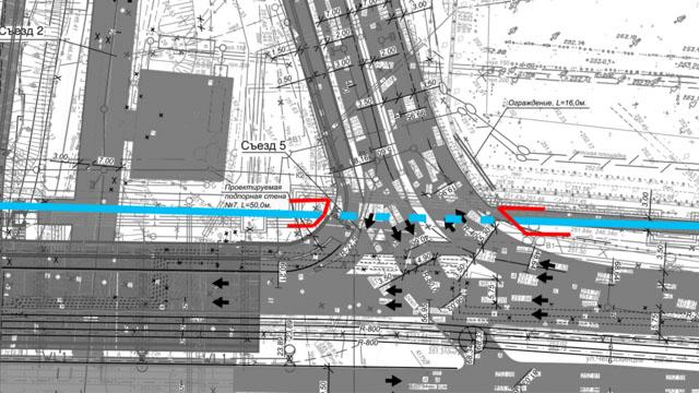 Пешеходный тоннель под Гражданской обеспечит доступ на набережную без светофора