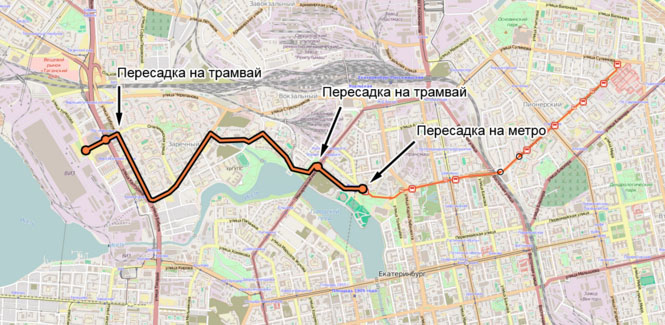 Продожение троллейбусного маршрута №4 в сторону Заречного
