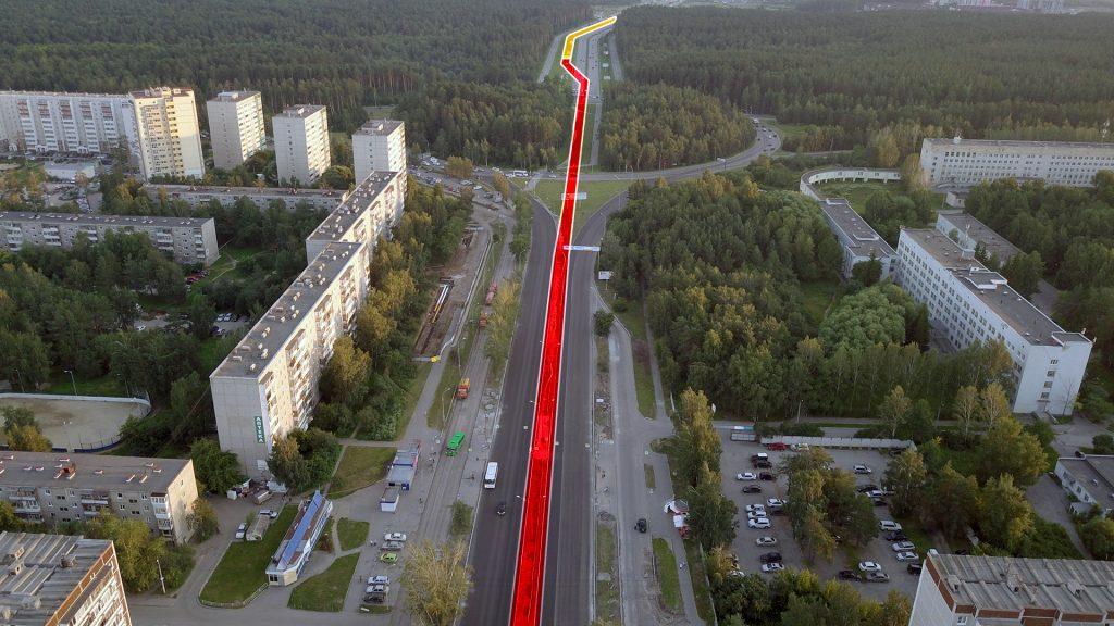 Сейчас же проект трамвайной линии предполагает масштабную реконструкцию улиц.