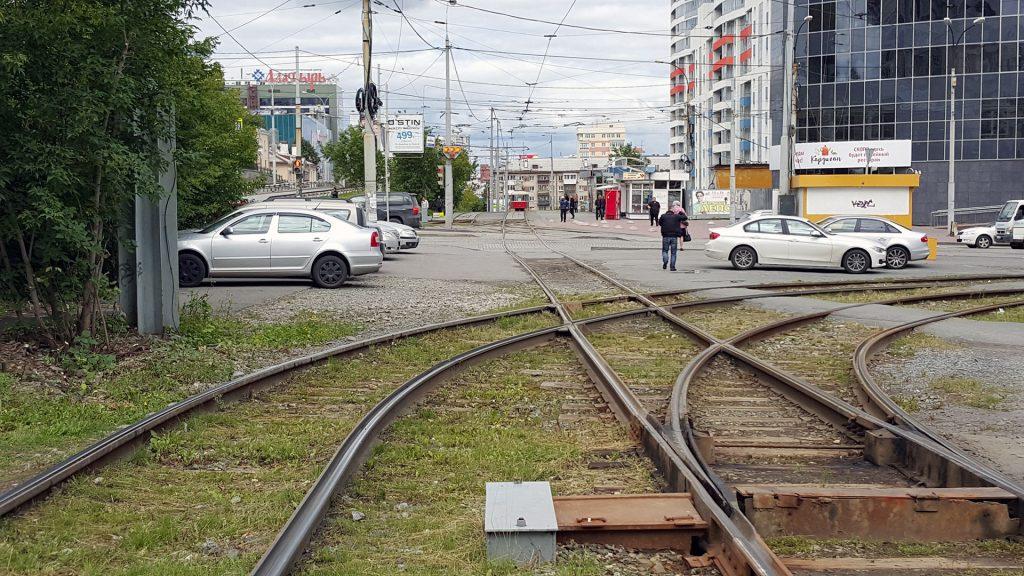 Трамвайная линия по улице Московской - пример дисфункциональной транспортной инфраструктуры