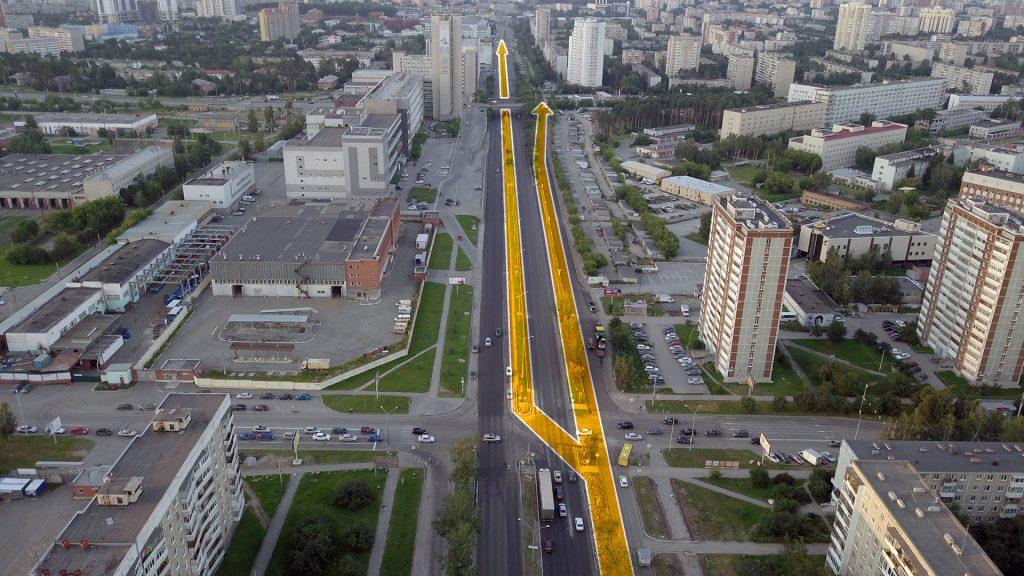 Когда и если потребуется продление трамвайной линии в сторону улицы Шаумяна и далее, можно будет сделать развилку на перекрестке с Бардина.