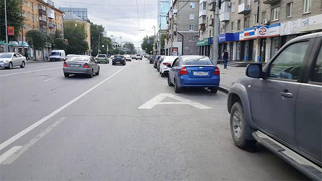 Парковка мешает работе выделенки