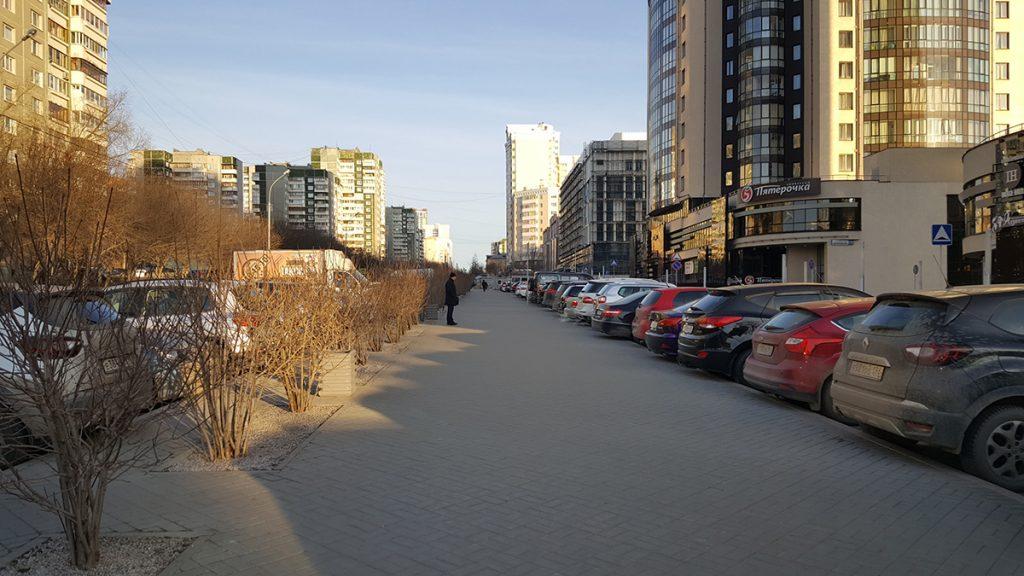 "Тротуар около ЖК ""Антарес"""