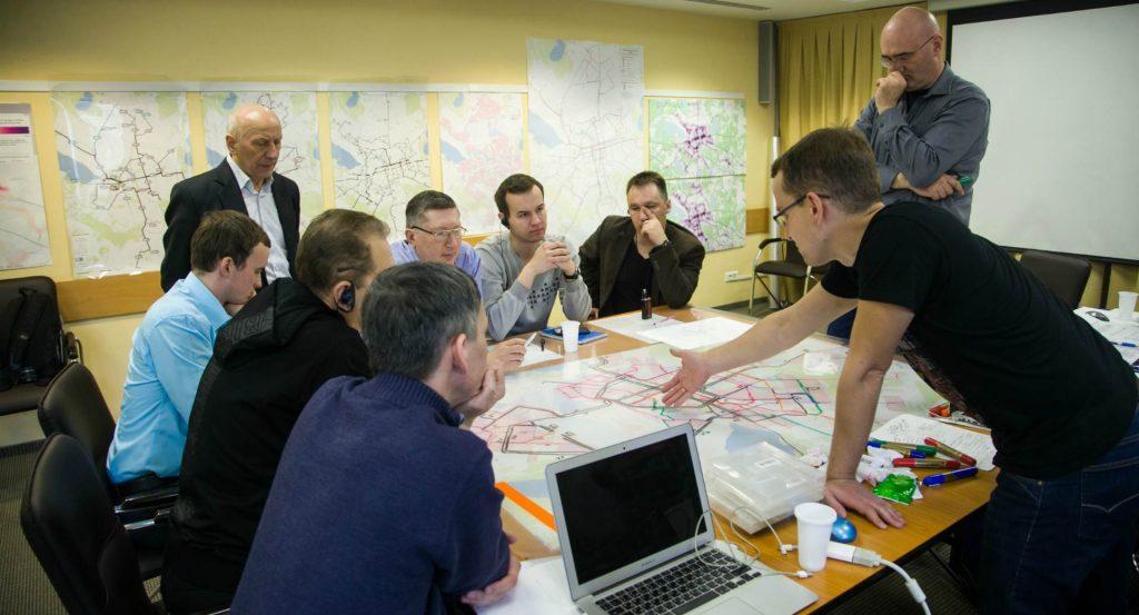 Процесс разработки проекта новой маршрутной сети