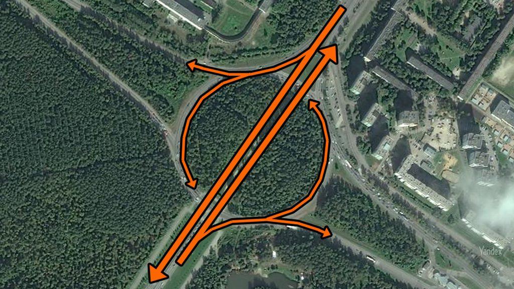 После пробивки кольца основной трафик улиц де Геннина и Серафимы Дерябиной пойдет напрямую.