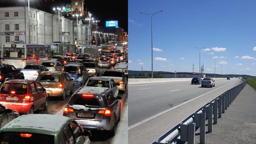 На которой из этих двух фотографий изображена свобода передвижения?