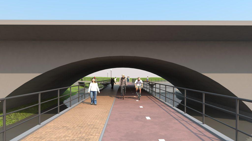 Мост под мостом на Куйбышева