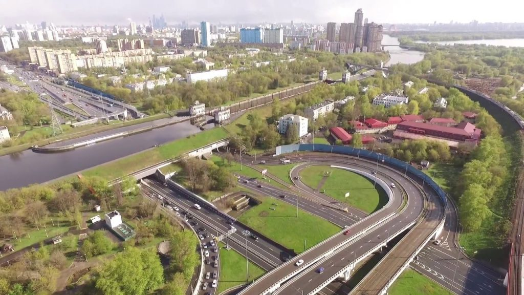 Канал имени Москвы на пересечении с Волоколамским шоссе
