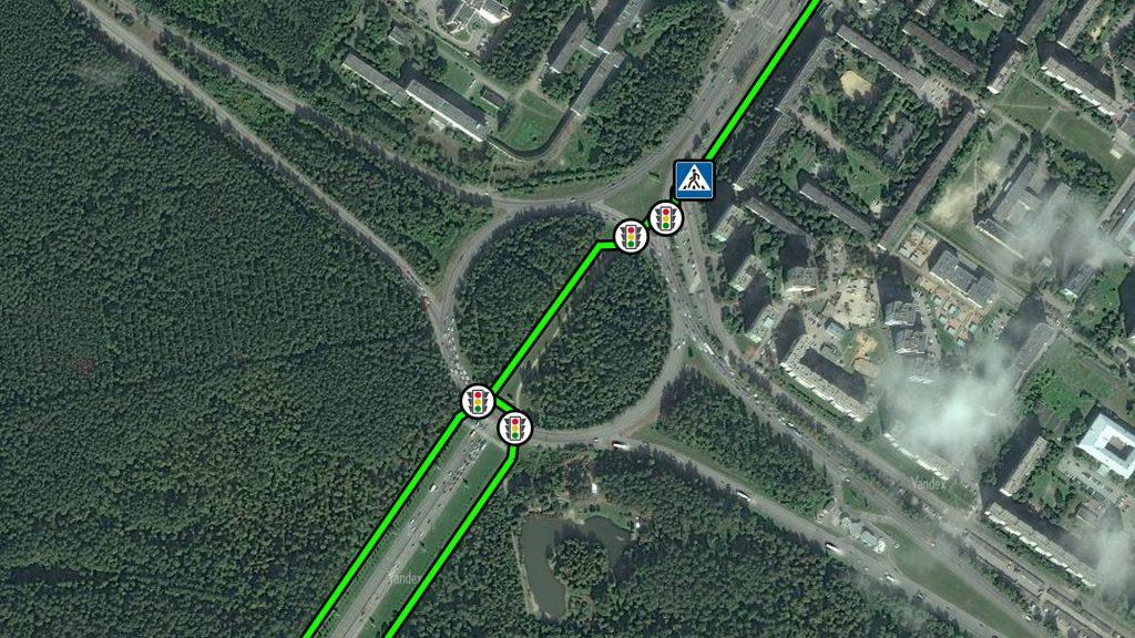 Сегодня нужно 4 раза пересечь проезжую часть, чтобы попасть из Юго-Западного района в одноименный лесопарк