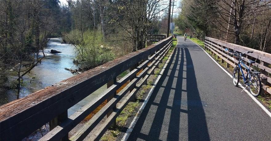 Коридоры бывших железных дорог идально подходят для строительства веломаршрутов