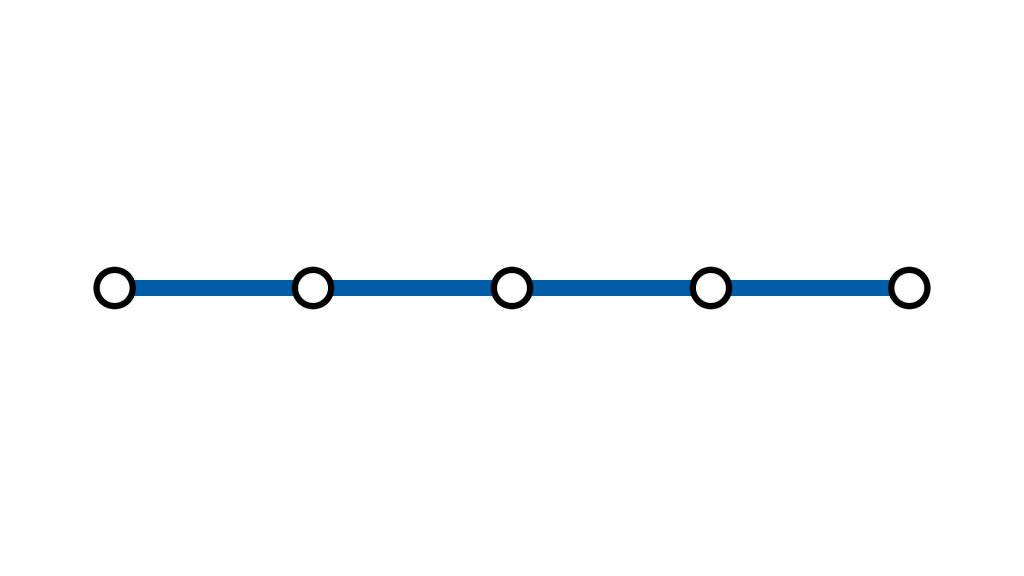 Прямолинейный маршрут