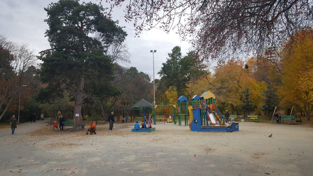 Существующая детская площадка в Зеленой Роще