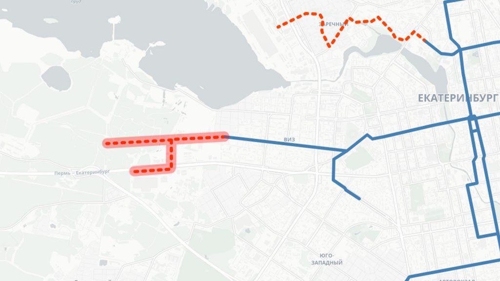 Продление троллейбусной линии по улице Крауля
