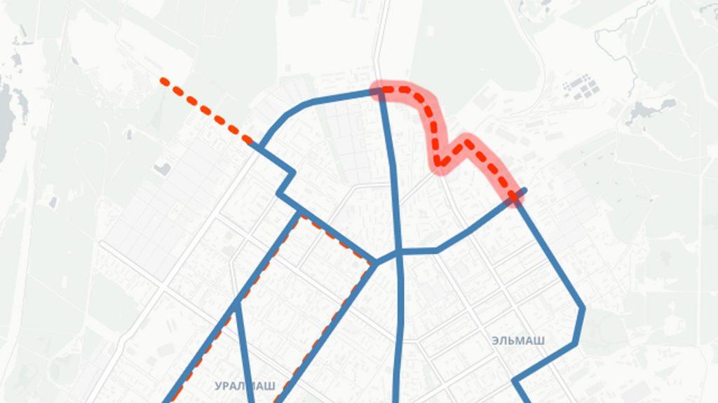Соединение троллейбусных линий по Таганской и Бакинских Комиссаров