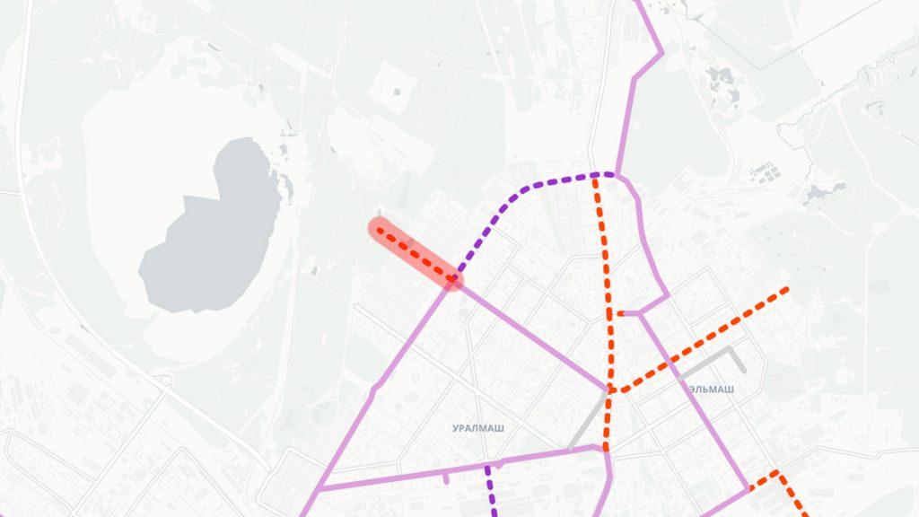 Продление трамвайной линии по улице Победы