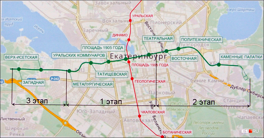Активно продвигаемая администрацией города вторая линия метро охватывает несколько районов и по предварительным оценкам обойдется в 90 млрд. рублей
