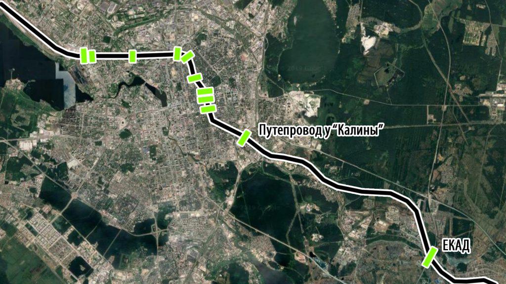 Пересечения Транссибирской магистрали улицами и дорогами
