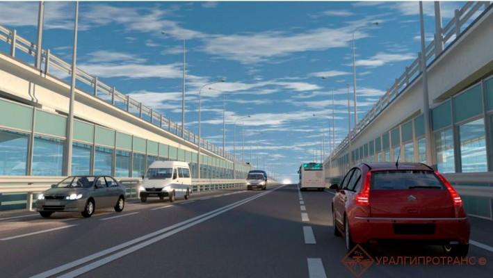 Два дополнительных путепровода планируется построить по обеим сторонам от существующего.