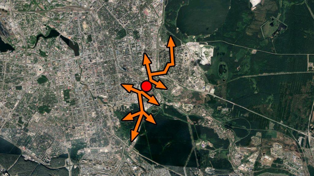 """Путепровод у """"Калины"""" - ключ к соединению нескольких районов и крупных рекреационных зон для пешеходов и велосипедистов."""
